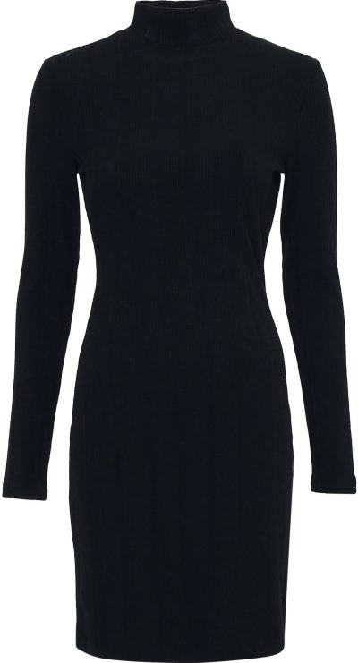 Black Must Have Rib Dress-NLY Trend