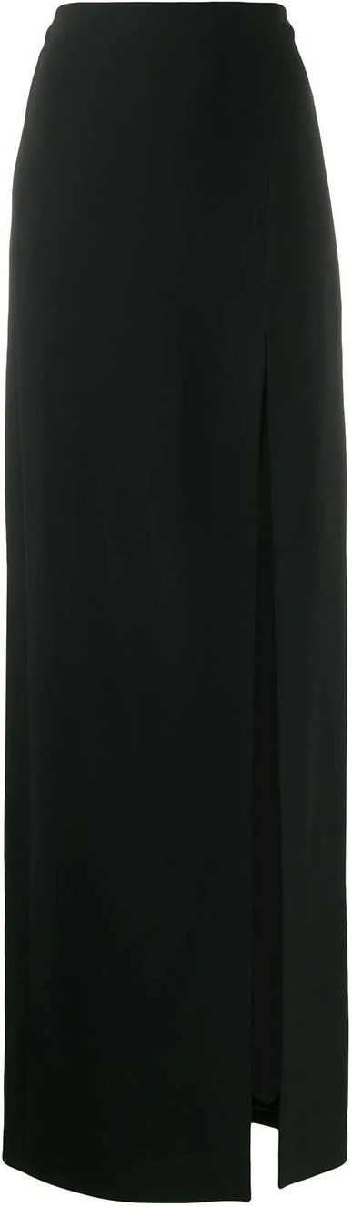 Straight-fit Maxi Skirt-David Koma