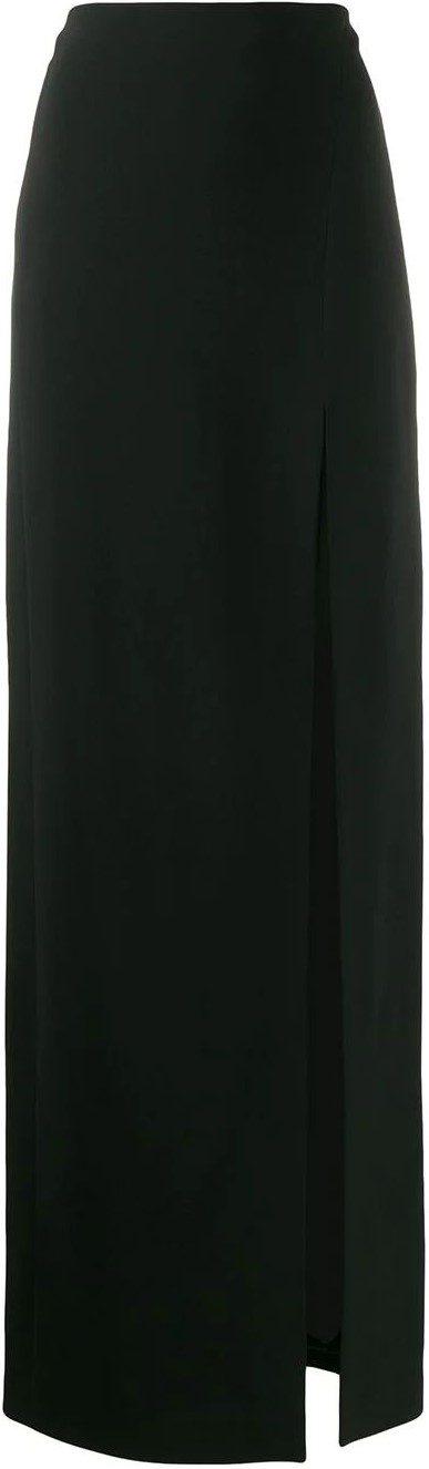 Straight-fit Maxi Skirt-David Koma