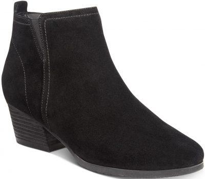 Black Suede Isla Waterproof Boots