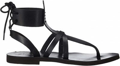 Black Vacation Day Wrap Sandal-Free People