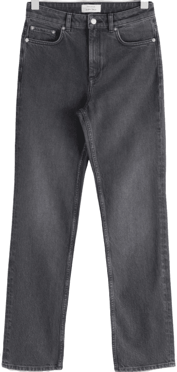 Grey Straight Stretch Jeans-& Other Stories