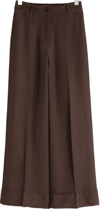 High-Waisted-Flared-Trousers