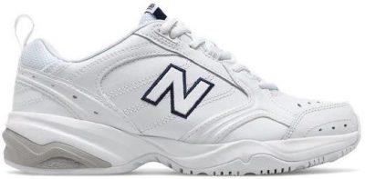 White New Balance 624 Running Shoes