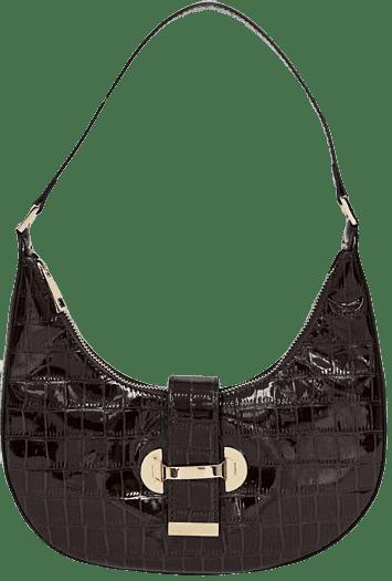 90s-Hobo-Shoulder-Bag-In-Croc