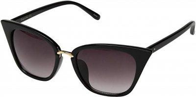 Black Circus Geo Cat Eye Sunglasses-Sam Edelman