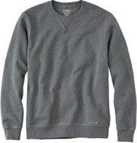 Charcoal Heather Classic Crewneck Sweatshirt-L.L.Bean