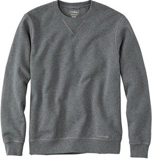 Charcoal Heather Classic Crewneck Sweatshirt-L.L.Bean