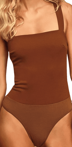 Symbolize Rust Brown Sleeveless Bodysuit - Lulus