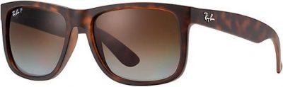 Tortoise Brown Gradient Justin Classic Sunglasses-Ray-Ban