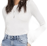 White_Ribbed_Long_Sleeved_Top