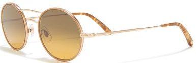 Sanborn 49mm Round Aviator Sunglasses