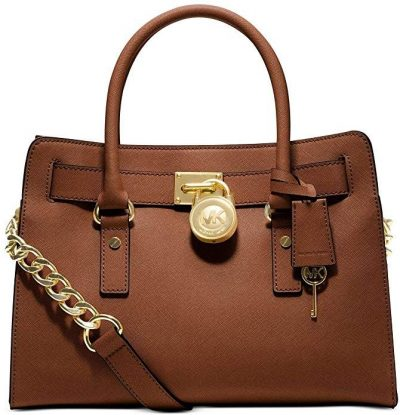 Luggage Saffiano Satchel Handbag-Michael Kors-294