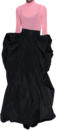 Black Givenchy FW19 Haute Couture Dress-Givenchy