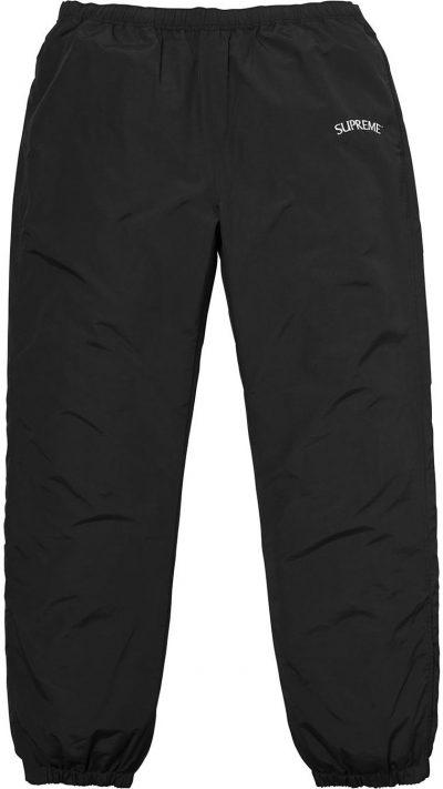 Black Arc Track Pant-Supreme