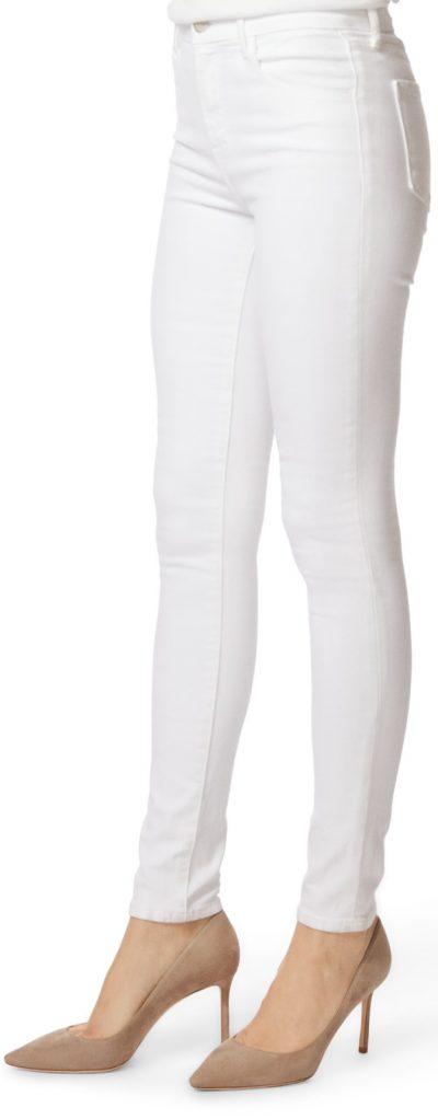 Blanc Maria High-Rise Skinny Jeans-J Brand