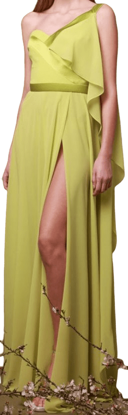 Green Georges Chakra SS2019 Dress-Georges Chakra