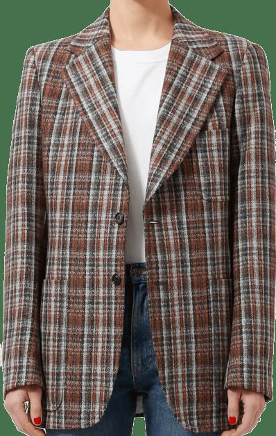 Tartan Plaid Harrow Blazer - Re See