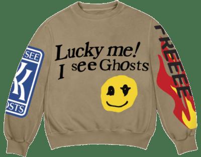 Trench Lucky Me Crewneck Sweatshirt