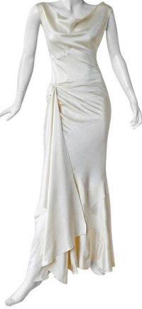 White Vintage Dress-Christian Dior by John Galliano