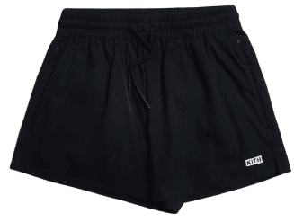 Black Erika Classic Nylon Short