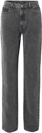 Grey Sunday Mid-Rise Straight-Leg Jeans-J Brand