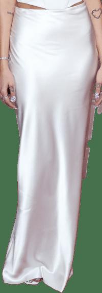 White Custom Alexander Wang Skirt-Alexander Wang