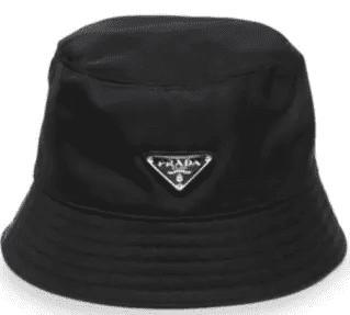 Black Vintage Bucket Hat