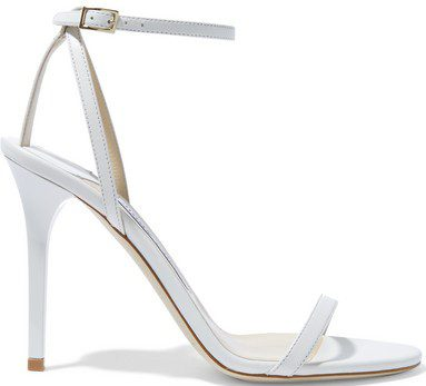Minny Leather Sandals-Jimmy Choo