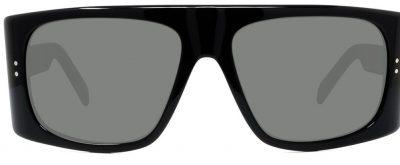 Black Shield Sunglasses - Celine