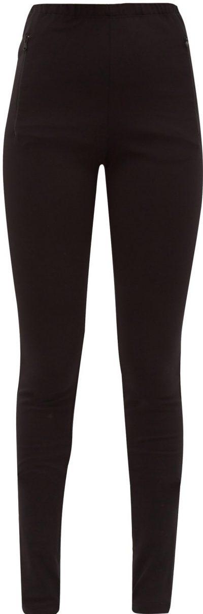 Black Release 03 Zip Cuff Jersey Leggings