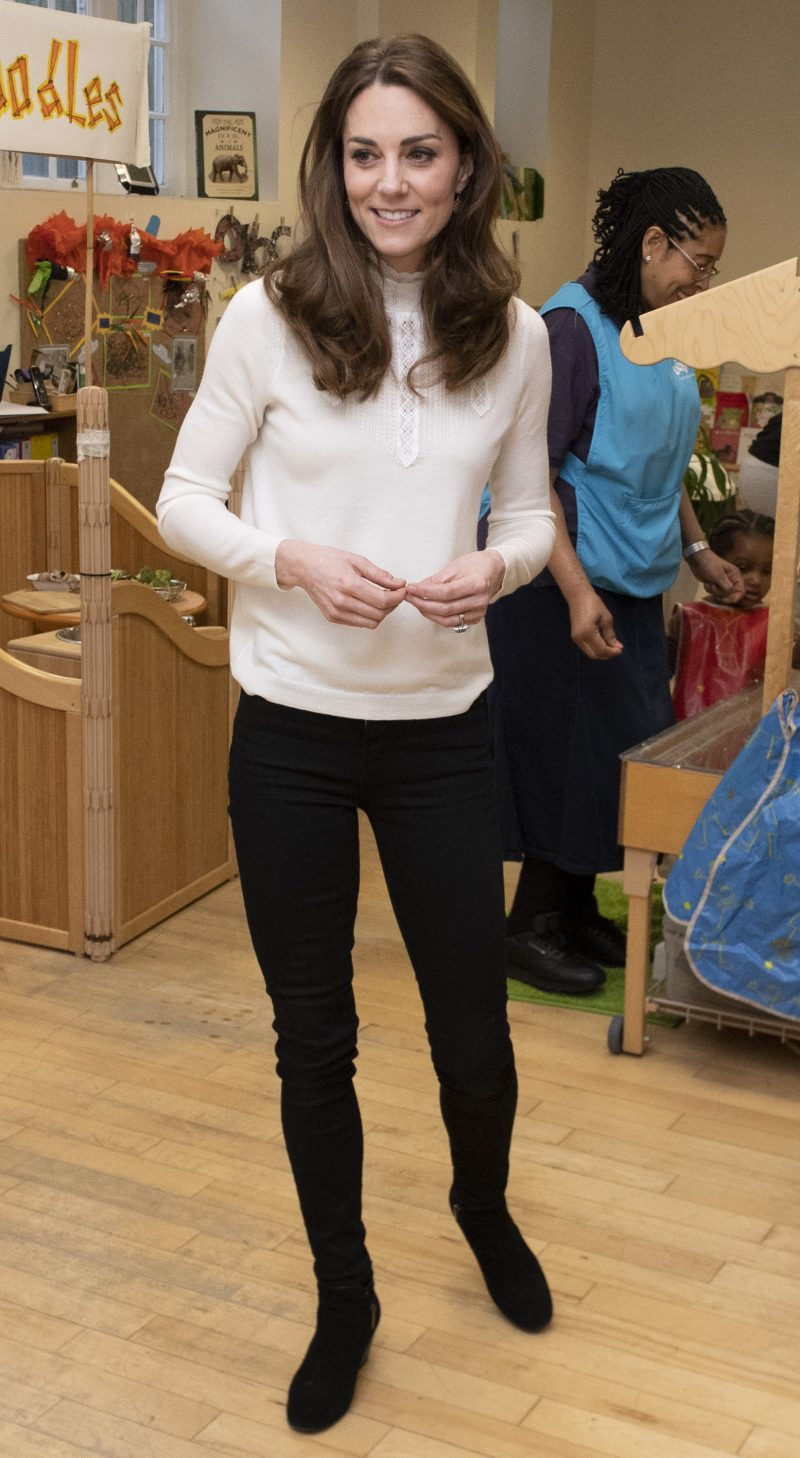 The Duchess of Cambridge visits LEYF Stockwell