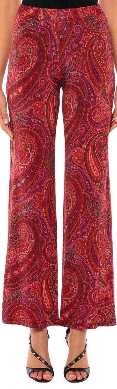 Brick Red Casual Pants-Alpha Studio