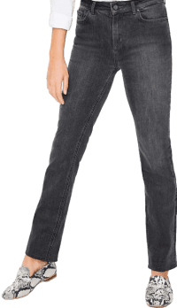 Grey Trafalgar Straight Let Jeans