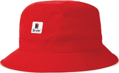 Red Stowell Bucket Hat-Brixton