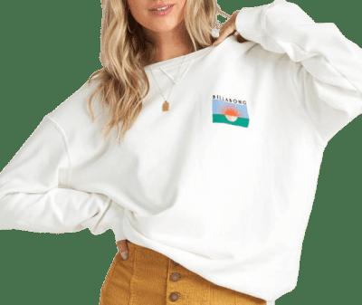 Salt Crystal Surf Vibe Sweatshirt-Billabong
