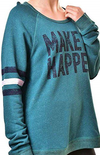 Teal Make It Happen Sweatshirt