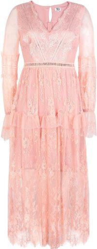 Light Pink Midi Dress