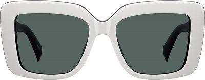 White Premium Square Sunglasses