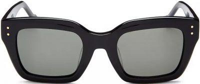 Black 50mm Square Sunglasses-Le Specs Luxe