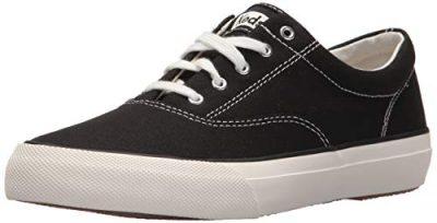 Black Anchor Canvas Sneaker-Keds