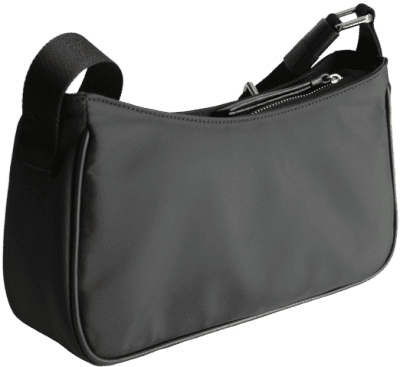 Black Small Nylon Shoulder Bag-& Other Stories