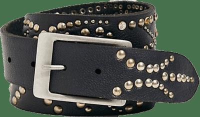 Black Starlight Studded Belt-Free People