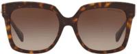 Dark Tortoise Cortina 55MM Square Sunglasses