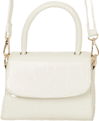 White Croc Halfway There Bag