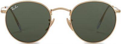 Gold Tone G-15 Round-Frame Sunglasses-Ray-Ban
