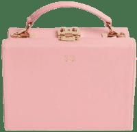 Peony Pink Box Bag