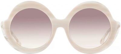 Cream Horn Stacey Sunglasses