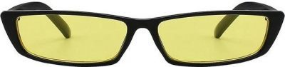 Yellow Neptune Free's Small Rectangle Sunglasses-ShadesOnParty