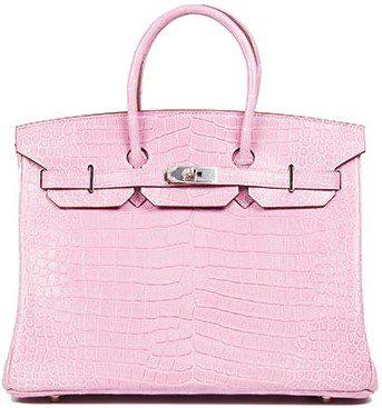 Birkin Pink 35cm Bag-Hermes